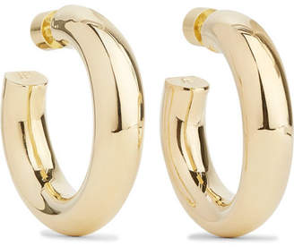 Mini Jamma Gold-plated Hoop Earrings