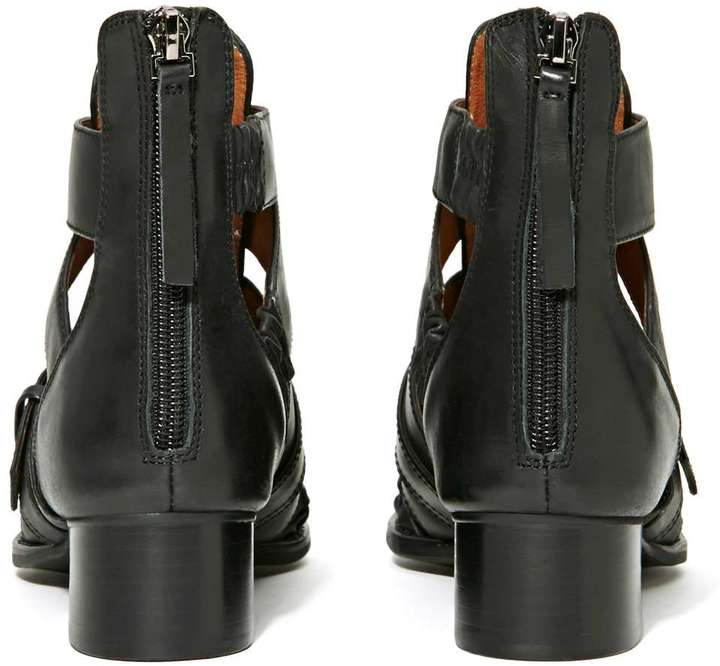 Nasty Gal Jeffrey Campbell Level Up Ankle Boot
