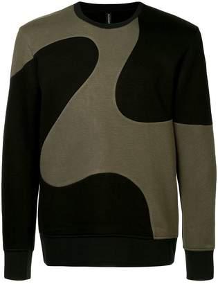 Blackbarrett 'Curved lines' sweatshirt