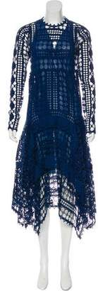 Chloé Macramé Maxi Dress
