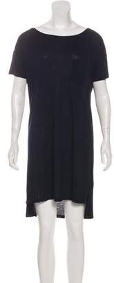 Alexander Wang Bateau Neck T-Shirt Dress
