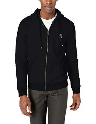Original Penguin Men's Long Sleeve Zip Up Hoodie