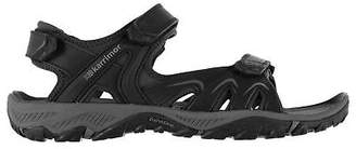 Karrimor Mens Perth Walking Sandals Shoes Hook and Loop Customisable Fit