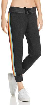Vintage Havana Rainbow-Trim Sweatpants