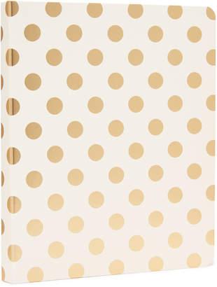 Kate Spade Gold Pavilion Spiral Notebook