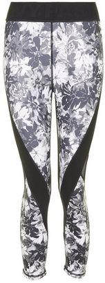 Ivy park Floral mesh low rise legging