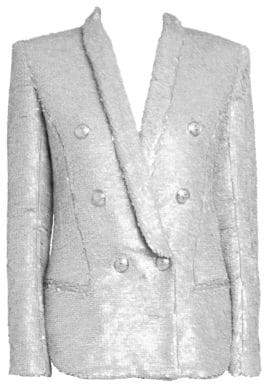 Balmain Oversize Sequin Blazer