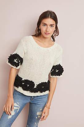 Akemi + Kin Tufted Hand-Knit Sweater