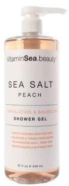 Sea Salt, Peach Exfoliating & Balancing Shower Gel/ 32 oz.