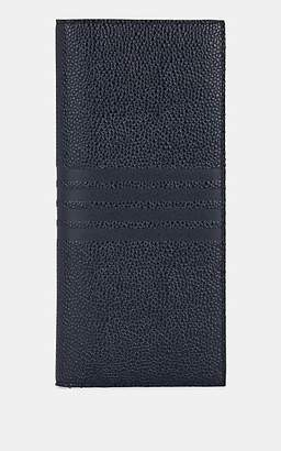 Thom Browne Men's Long Leather Wallet - Navy