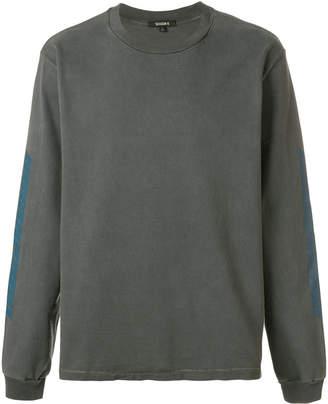 Yeezy printed sleeve sweatshirt