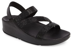 Women's Fitflop(TM) Crystall Wedge Sandal $139.95 thestylecure.com