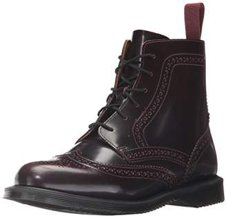 Dr. Martens Women's's Delphine Red Arcadia Ankle Boot