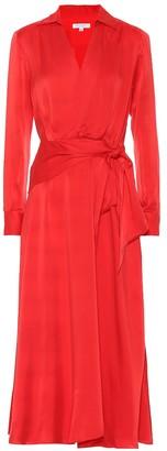 Equipment Vivienne silk-blend dress