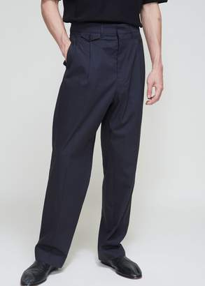 Lemaire Two Pleated Light Twill Pants