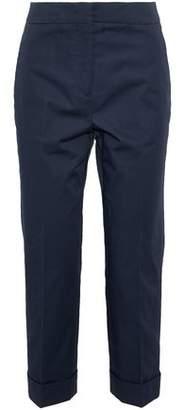 Jil Sander Cropped Cotton-Blend Straight-Leg Pants