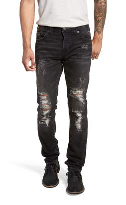 f050e51ce3d786 True Religion Brand Jeans Rocco Skinny Fit Jeans