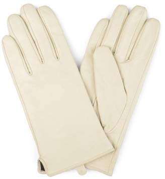 Brinley Co. Womens Lined Fashion Leather Sheepskin Driving Gloves