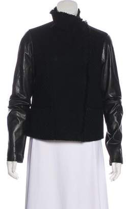 Vince Knit Asymmetrical Jacket