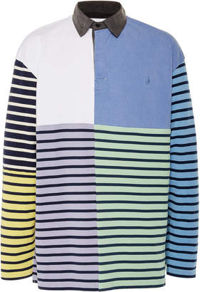 J.W.Anderson Striped Cotton-Jersey Rugby Polo