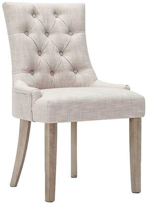 BEIGE Resort Living French Provincial Rowling Dining Chair,