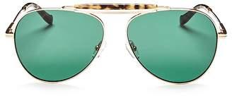 Sonix Women's Nara Aviator Sunglasses, 61mm