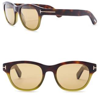 Tom Ford Acetate 51mm Sunglasses