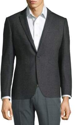 John Varvatos Textured Classic Jacket