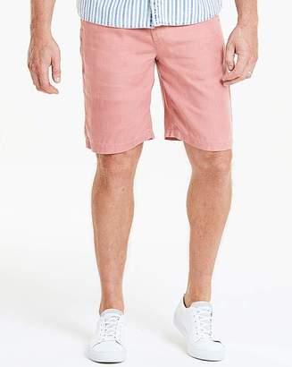 Jacamo Flintoff By Premium Linen Shorts