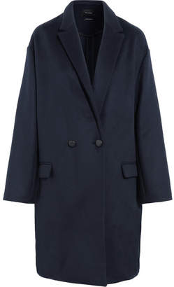 Isabel Marant - Filipo Oversized Wool And Cashmere-blend Coat - Midnight blue
