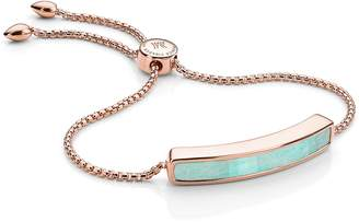 Monica Vinader Engravable aja Stone Bracelet