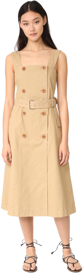 Madewell Trench Dress