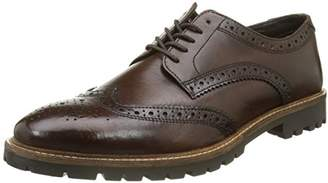 Base London Men's Trench Brogues, (Washed Brown 208)