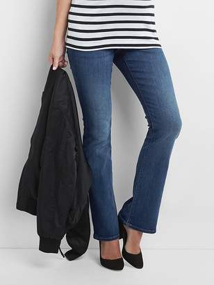 Gap Maternity full panel baby boot jeans