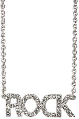 "Zadig & Voltaire WOMEN'S ""ROCK"" PENDANT NECKLACE"