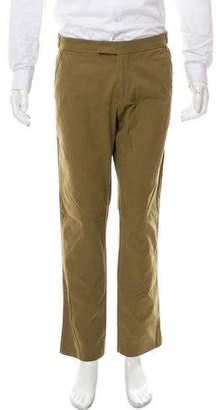 Michael Bastian Contrast-Trimmed Slim-Fit Pants