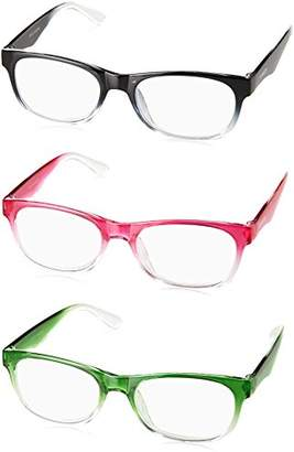 Steve Madden Unisex-Adult Sm63336b SM63336B Rectangular Reading Glasses