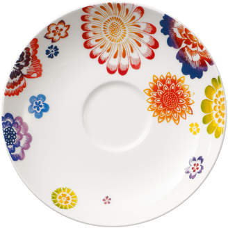 Villeroy & Boch Anmut Bloom Tea Cup Saucer 6 in