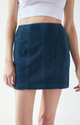 PacSun Corduroy Paneled Skirt