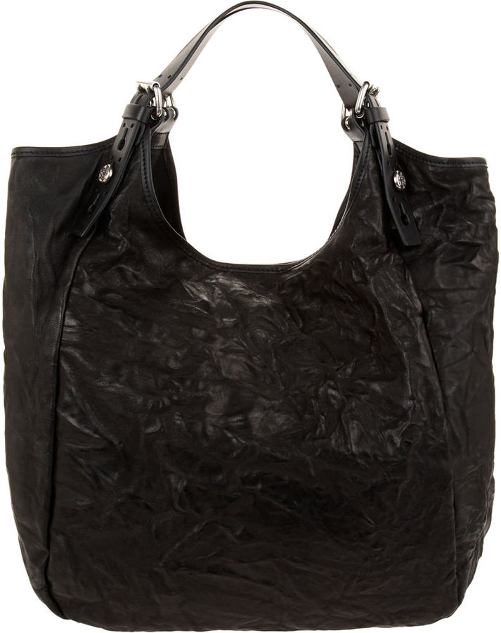 Givenchy Tex Leather Belt Strap Sacca - Black