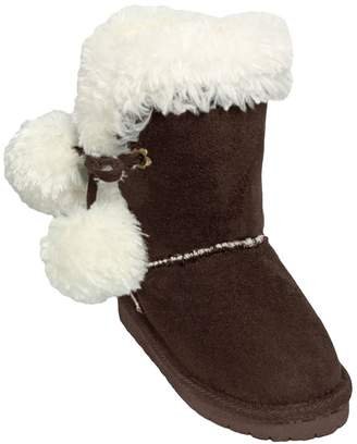 Dawgs Girls' Side Tie Boots