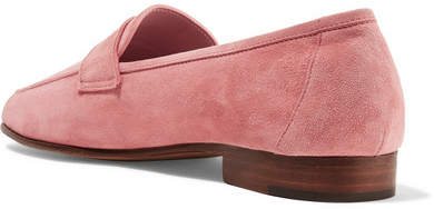 Mansur Gavriel - Classic Suede Loafers - Pink 6