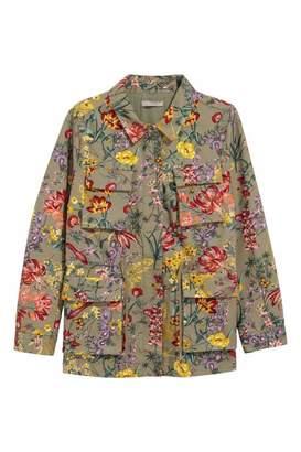 H&M Patterned Utility Jacket
