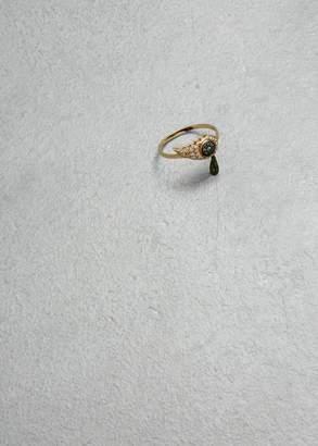Makri Crying Eye Ring