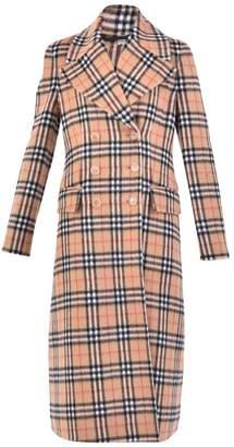 Burberry Multicolored Checked Coat