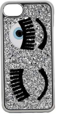 Chiara Ferragni Silver Glitter Cover