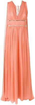 Alberta Ferretti draped empire line dress