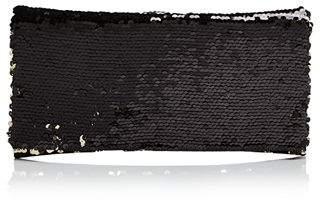 Aqua Sequin Foldover Clutch - 100% Exclusive