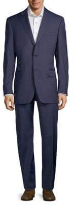 Canali Slim-Fit Pinstriped Wool Suit