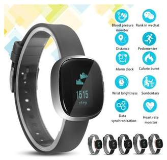 Generic Waterproof Bluetooth Smart Bracelet Wristband Sports Watch Fitness Tracker Activity Tracker With Blood Pressure Heart Rate Monitor for IOS Android iphone Birthday Gifts